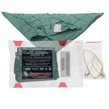 Dry Sterile Burn Dressing Cravat (XL)