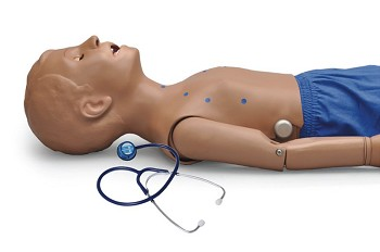 Heart and Lung Sounds Five Year, Combine with Intubatable Airway