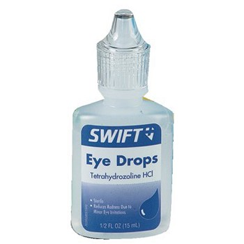 Swift First Aid ½ Ounce Bottle Artificial Tears Eye Drops