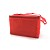 Red Vinyl Cooler Bag