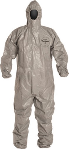 DuPont Chemical Protection Coveralls With Respirator