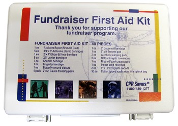 Fundraiser First Aid Kit (40 Piece)
